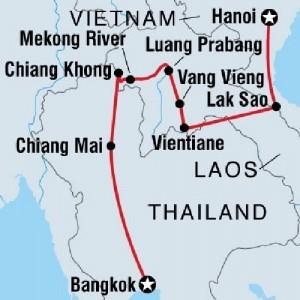 bus from bangkok to laos